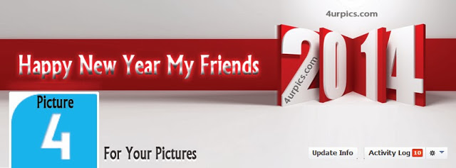 Happy New Year My Friends Facebook Cover