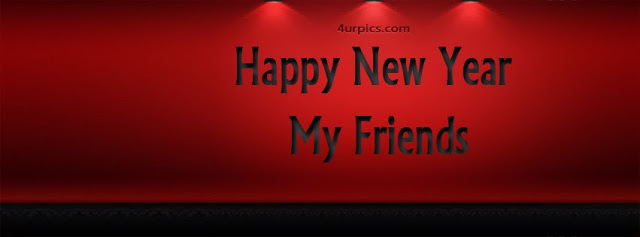 Happy New Year My Friends 2015 Facebook Cover