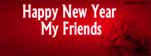 Happy New Year My Friends 2014 Facebook Cover